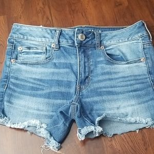 American Eagle denim shorts size 6